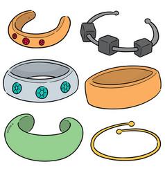 Set bracelet vector