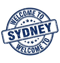 Welcome to sydney vector