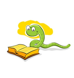 cartoon snake vector image vector image