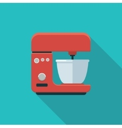 Stationary mixer Simple icon vector image vector image