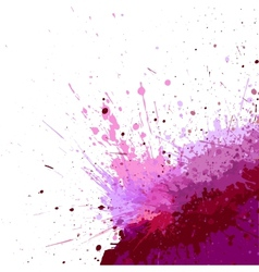 abstract grunge background vector image vector image