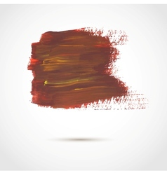 Abstract background with artistic paint banner vector image