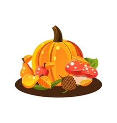 Autumn Harvest Still Life vector