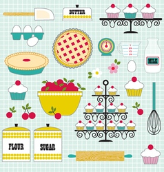 Baking clipart vector