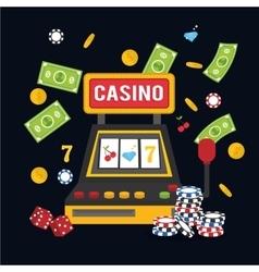 Casino icon design vector