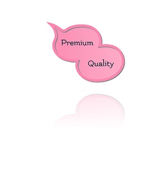 speak bubble with premium quality vector image