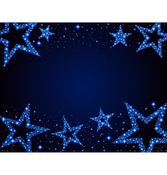 Stary background vector