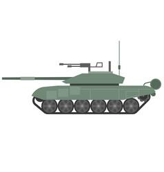 tank t90 flat design vector image