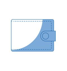 Wallet purse safe money accessory vector