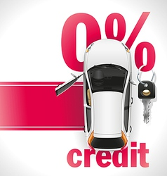 Credit Car on the Red Carpet vector image vector image