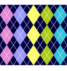 argyle pattern vector image