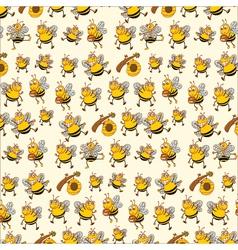 bee paper vector image