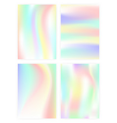 set of vertical abstract backgrounds with vector image