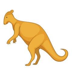 oviraptor icon cartoon style vector image vector image