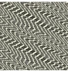 wavy grid ornament vector image vector image
