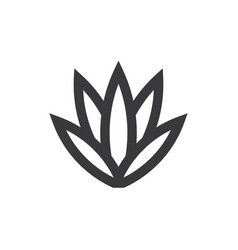 Agave icon vector