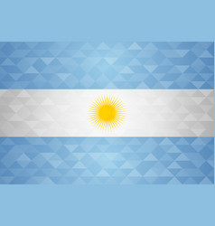 Argentina country flag argentinian nation vector