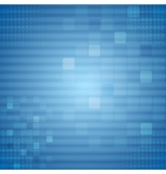 Bright blue technical background vector