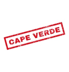 Cape Verde Rubber Stamp vector image