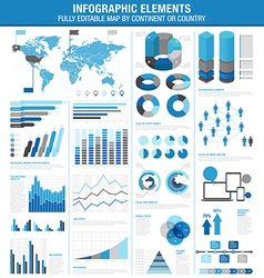infographics cold ok vector image vector image