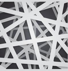 Irregular abstract grid vector