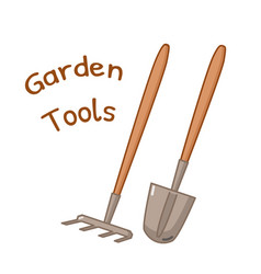Isolated gardening tools icon vector