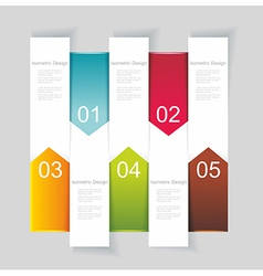 Modern Design template vertical banners vector