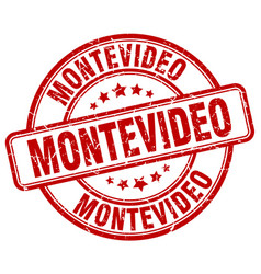 Montevideo stamp vector
