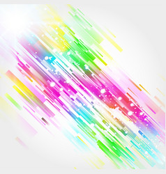 straight colorful lines abstract background vector image