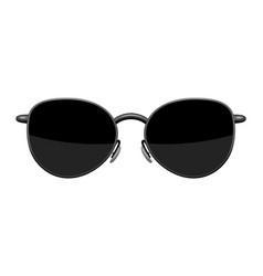 Stylish sunglasses vector