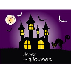 Happy Halloween Party Poster vector image