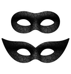 Masquerade eye mask vector image