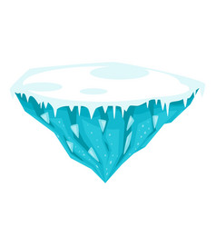 game ice island vector image vector image