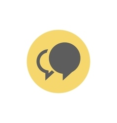 Social chat icon vector image