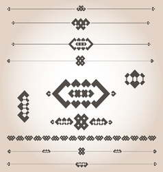 geometrical designs for documents vector image