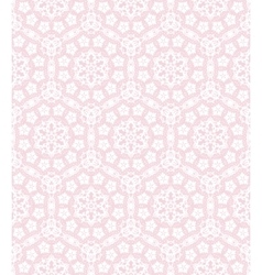 lace on pink vector image
