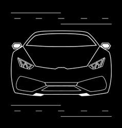 lamborghini vector image