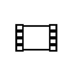media film flat icon vector image