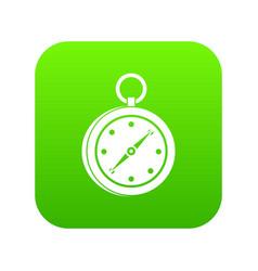 Multifunction knife icon digital green vector