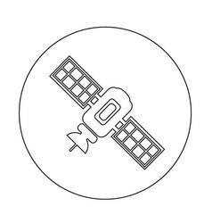 Satellite icon design vector