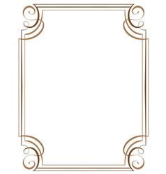 vertical frame vector image