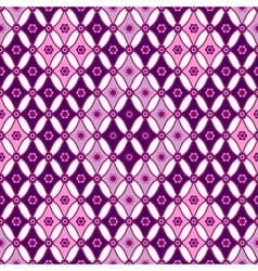 Pink-violet seamless pattern vector image