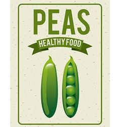 organic healthy food design vector image