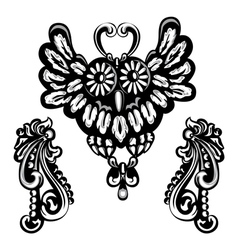 broches vector image