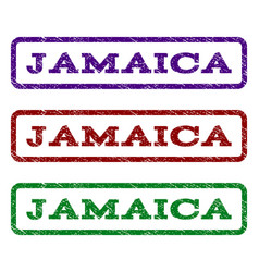Jamaica watermark stamp vector