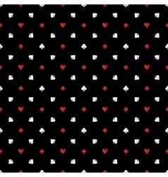 Poker seamless pattern vector