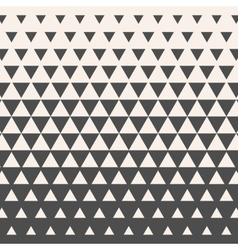 Triangles Vintage HalfTone Gradient Geometric vector image