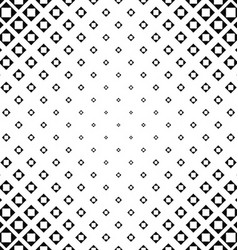 Abstract monochrome square pattern background vector image vector image