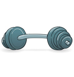 Dumbbell Sport Equipment vector image