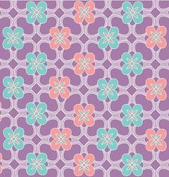 Java floral pattern vector image
